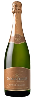 Gloria Ferrer Blanc de Blancs is made of 100 percent Chardonnay grapes