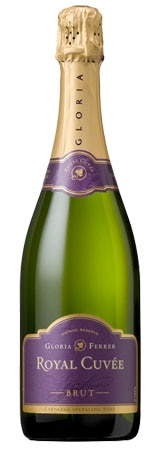 The Gloria Ferrer Royal Cuvee is an effusive sparkling wine made from Pinot Noir and Chardonnay grapes