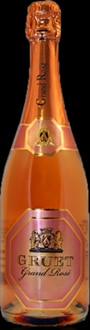 Gruet 2007 Grand Rose has lush cherry, apple and marzipan aromas and flavors