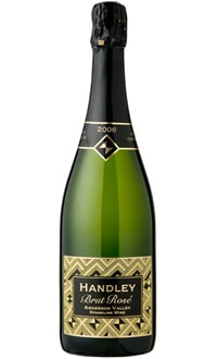 Handley Cellars 2006 Brut Rose, one of GAYOT.com's Top 10 American Sparkling Wines 2012