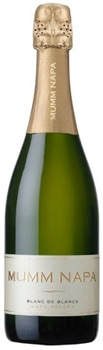 Mumm Napa 2009 Blanc de Blancs uses grapes sourced from some of Napa Valley's top vineyards