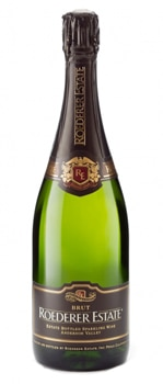 Roederer Estate Multi Vintage Brut is made by adding oak-aged reserve wines to each year's cuvée