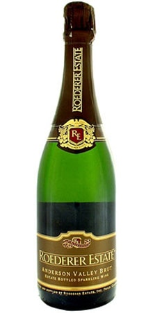 Roederer Estate Brut is a blend of oak-aged wines from the Estate's reserve cellars