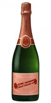 Scharffenberger Brut Rose NV, one of our Top 10 American Sparkling Wines 2011, offers refreshing red berry and pie crust aromas and flavors