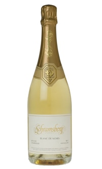 Schramsberg 2008 Blanc de Noirs, one of GAYOT.com's Top 10 American Sparkling Wines 2012