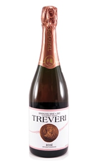 Treveri Cellars Sparkling Rose, one of GAYOT.com's Top 10 American Sparkling Wines