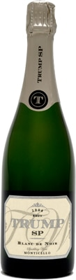 Trump Winery 2008 SP Blanc de Noir offers rich flavors of honey, coffee and caramel