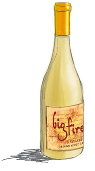 R. Stuart & Co. 2011 Big Fire Pinot Gris, one of our Top 10 Barbecue Wines