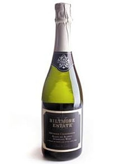 Biltmore Estate Brut Blanc de Blancs, on our list of the Top 10 Barbecue Wines