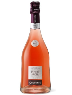 Codorniu Pinot Noir Rose Brut Cava, on our list of the Top 10 Barbecue Wines