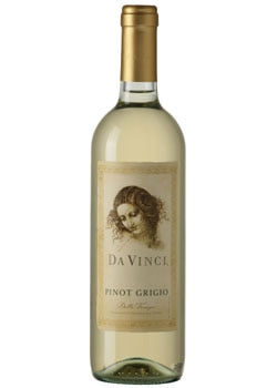 Da Vinci 2009 Pinot Grigio, on our list of the Top 10 Barbecue Wines