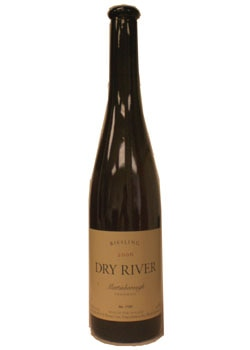 Dry River 2006 Late Harvest Riesling, on our list of the Top 10 Barbecue Wines