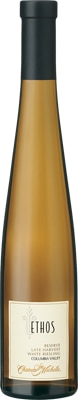 Chateau Ste Michelle 2011 Ethos Reserve Late Harvest Riesling features intense flavors of apple tart, apricot jam and honey
