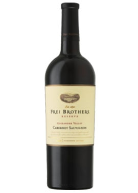 Frei Brothers 2008 Alexander Valley Cabernet Sauvignon, on our list of the Top 10 Barbecue Wines