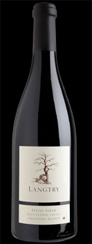 Langtry 2012 Petite Sirah is a bold, luscious wine from Northern California