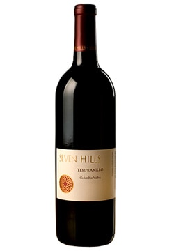 Seven Hills 2006 Tempranillo, Columbia Valley, on our list of the Top 10 Summer Wines