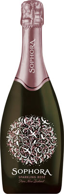 Sophora Sparkling Rose is produced in  New Zealand
