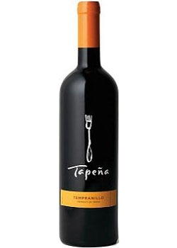 Tapena 2007 Tempranillo, on our list of Top 10 Barbecue Wines