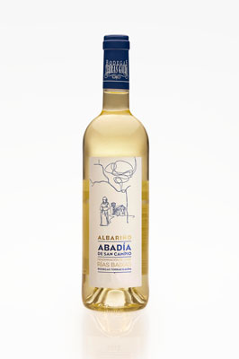 Terras Gauda's 2013 Abadia de San Campio Albarino is a crisp and refreshing wine