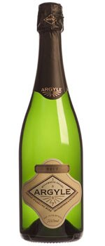 A bottle of Argyle 2007 Brut