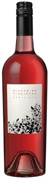 Blackbird Vineyards 2014 Arriviste Napa Valley Rose features flavors of strawberry and cherry
