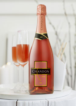 Domaine Chandon rose wine pairs well with brunch fare