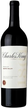 Smooth flavors of mocha and rich dark berries are abundant in the Charles Krug 2010 Napa Valley Merlot