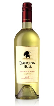 The crisp and zesty Dancing Bull 2013 Sauvignon Blanc boasts tropical fruit flavors