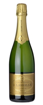 Champagne J. Lassalle Cachet d'Or Brut Premier Cru offers abundant aromas of pear, anise and candied fig