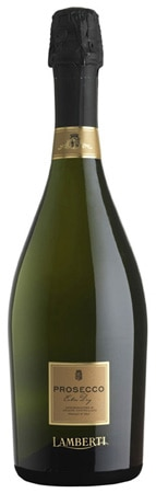 A bottle of Lamberti Prosecco Veneto DOC, one of our Top 10 Brunch Wines 2012