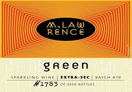 M. Lawrence is made by Michigan's L. Mawby Winery