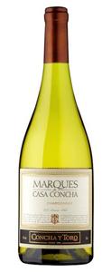 Marqués de Casa Concha 2015 Chardonnay has fig and pear flavor front and center