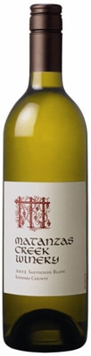 Matanzas Creek Winery 2012 Sonoma County Sauvignon Blanc is an aromatic and refreshing white wine