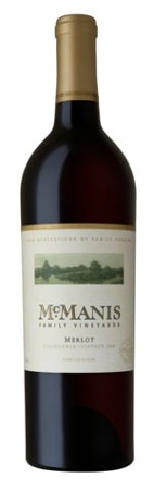 McManis Family Vineyards 2010 Merlot, one of our Top 10 Brunch Wines 2012