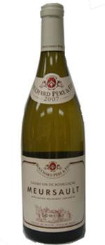 A bottle of Bouchard Pere & Fils 2007 Meursault