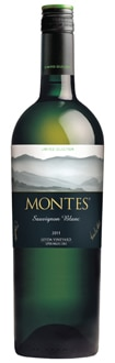 Montes 2011 Limited Selection Sauvignon Blanc comes from the Leyda Valley, Chile