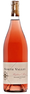 North Valley 2011 Highland Rose is a blend of 80 percent Pinot Noir, 16 percent Chardonnay and 4 percent Gewürztraminer
