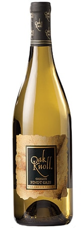 Oak Knoll 2009 Pinot Gris, one of our Top 10 Brunch Wines 2012