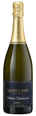 Quartz Reef Methode Traditionelle Brut is composed of 58 percent Pinot Noir and 42 percent Chardonnay