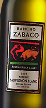 Rancho Zabaco 2008 Russian River Valley Reserve Sauvignon Blanc