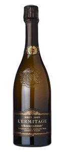 Roederer Estate 2009 L'Ermitage has notes of apricot and hazelnut