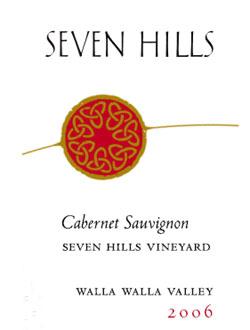 Seven Hills Vineyard 2006 Cabernet Sauvignon, Walla Walla Valley