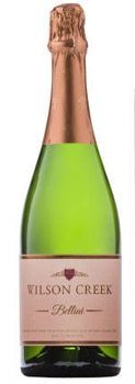 Wilson Creek Peach Bellini is made by adding fresh peach juice to the winery's Almond Champagne