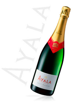 Champagne Ayala Brut Majeur is an inexpensive sparkler that yields fruity flavors