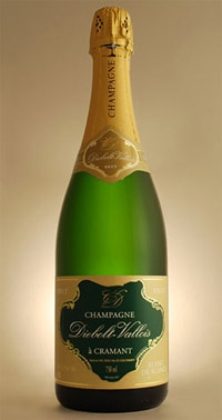 Diebolt Vallois Blanc de Blancs is one of our Top 10 Budget Champagnes