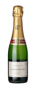 Champagne Laurent-Perrier Brut is composed of 45 percent Chardonnay, 40 percent Pinot Noir and 15 percent Pinot Meunier