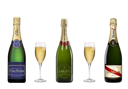 All of GAYOT's Top 10 Budget Champagnes are available for $45 or less