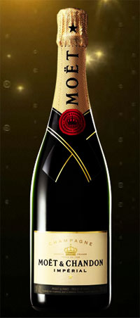 Moët & Chandon Impérial Champagne is a crisp and affordable sparkler