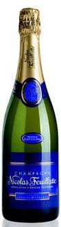 Champagne Nicolas Feuillatte Brut Reserve is a good bargain bottle that pairs well with poultry