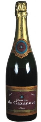 Champagne Charles de Cazanove Tradition Brut is composed of 60 percent Pinot Noir, 30 percent Pinot Meunier and 10 percent Chardonnay